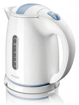 Чайник электрический Philips HD4646 / 70 белый / голубой