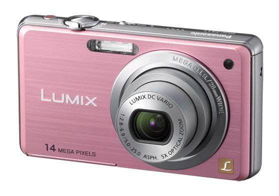 Фотоаппарат Panasonic Lumix DMC-FS11EE-P розовый - фото 2