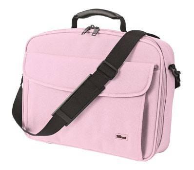 "Сумка для ноутбука 15.4"" Trust BG-3510Rp розовый - фото 1"