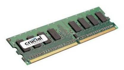 Модуль памяти DIMM DDR2 2Gb Crucial CT25664AA800 - фото 1