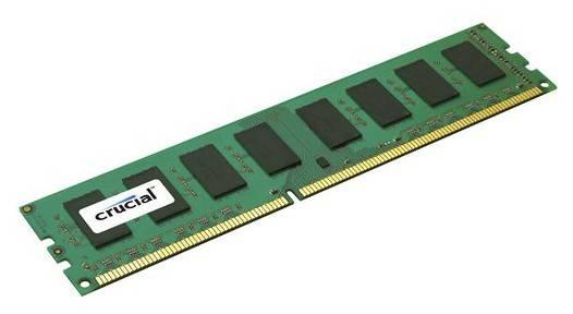 Модуль памяти DIMM DDR3 1Gb Crucial CT12864BA1339 - фото 1