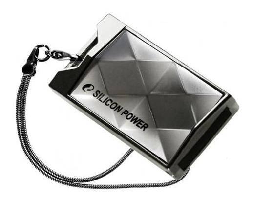 Флеш диск Silicon Power Touch 850 8ГБ USB2.0 серебристый - фото 1