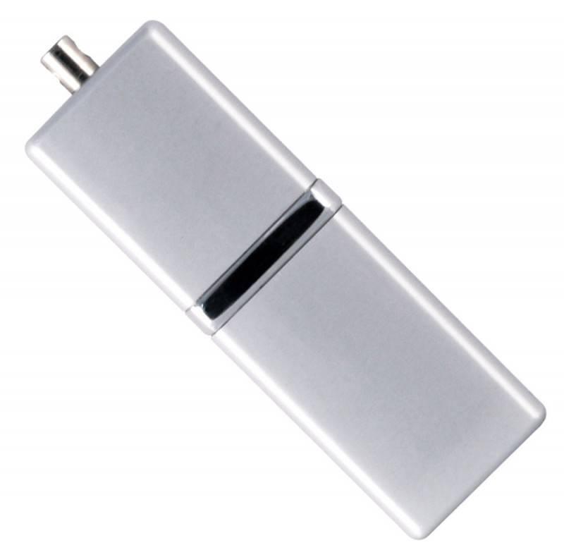 Флеш диск 8Gb Silicon Power LuxMini 710 USB2.0 серебристый - фото 1