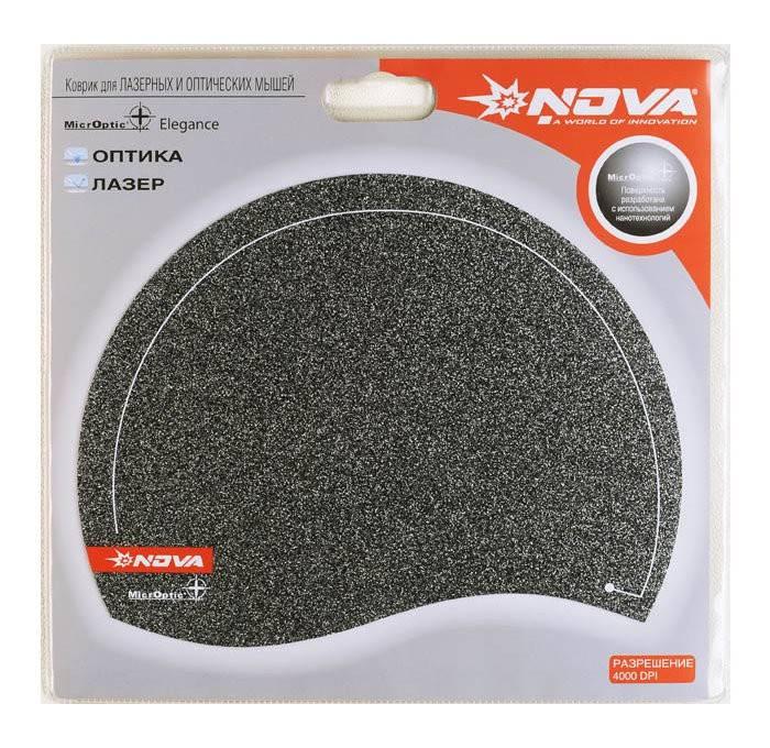 Коврик для мыши Nova Microptic+ Elegance черный - фото 2