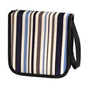 Портмоне Hama для 32CD Stripes синее (H-83882) - фото 1