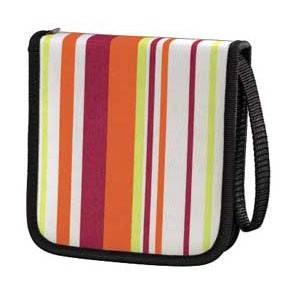 Портмоне Hama для 32CD Stripes розовое (H-83883) - фото 1