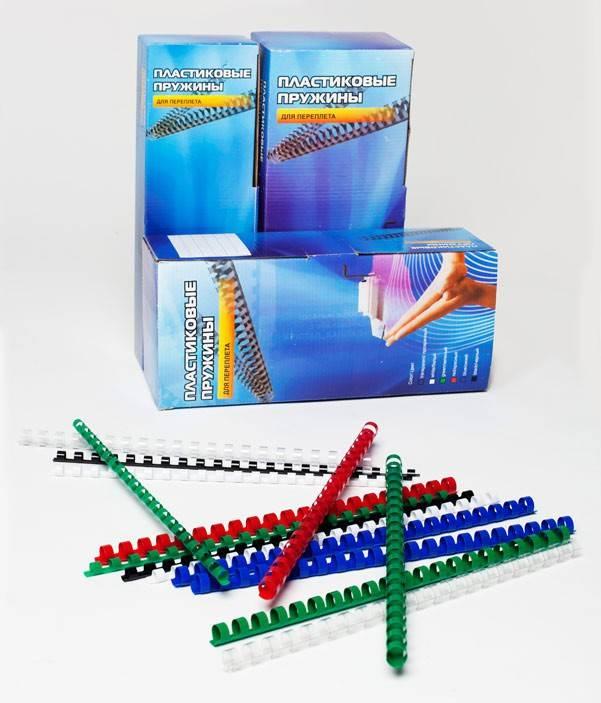 Пружина пластиковая Office Kit BP2041 100шт. - фото 2