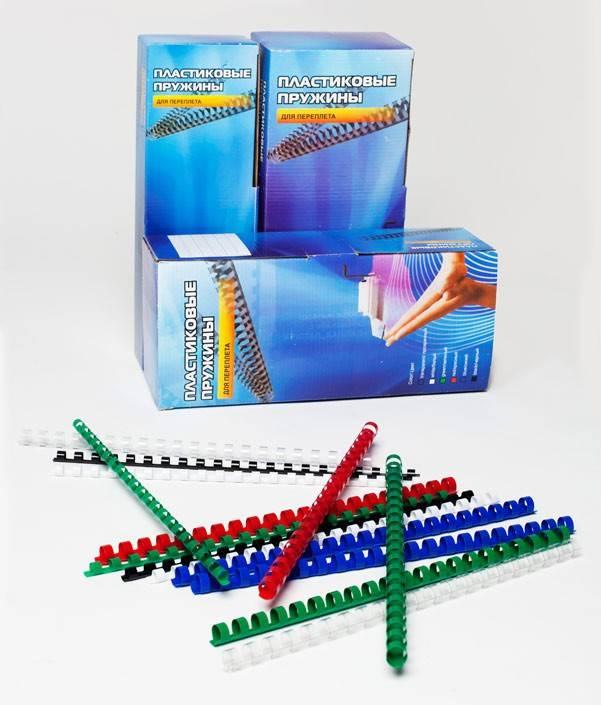 Пружина пластиковая Office Kit BP2000 100шт. - фото 2