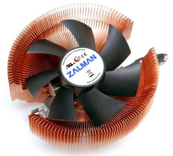 Устройство охлаждения(кулер) Zalman CNPS7000C-Cu Ret - фото 2