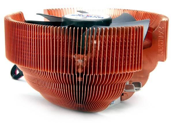 Устройство охлаждения(кулер) Zalman CNPS7000C-Cu Ret - фото 3