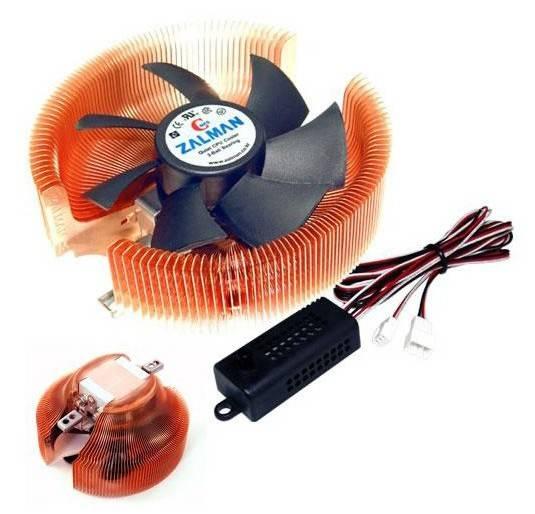 Устройство охлаждения(кулер) Zalman CNPS7000C-Cu Ret - фото 5