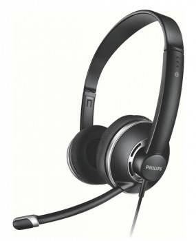 Наушники с микрофоном Philips SHM7410U / 10 черный