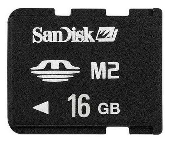 Карта памяти MS micro M2 16Gb Sandisk SDMSM2-016G-E11M - фото 1