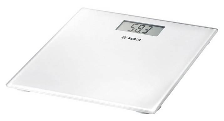 Весы напольные электронные Bosch PPW3300 белый - фото 1