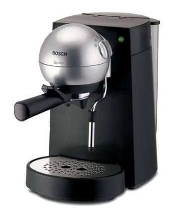 Кофеварка эспрессо Bosch TCA4101 черный/серебристый - фото 1