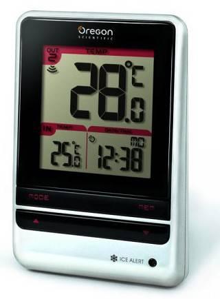 Термометр Oregon Scientific RMR202 серый - фото 1
