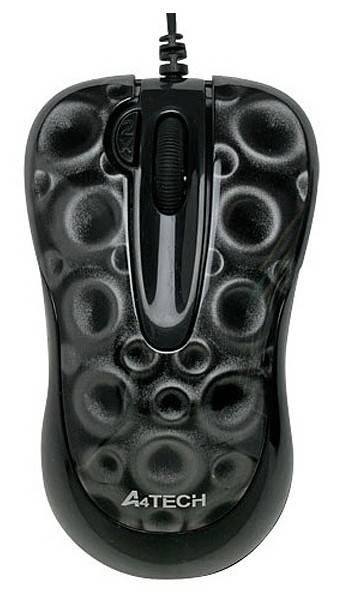 Мышь A4 X6-60MD-2 черный - фото 2