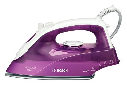 Утюг Bosch TDA2630 сиреневый/белый - фото 1