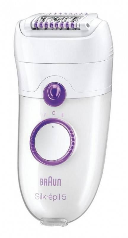 Эпилятор Braun SE5180 белый/фиолетовый - фото 1