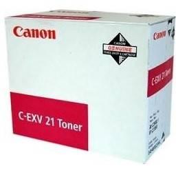 Тонер Canon C-EXV21 пурпурный 260грамм - фото 1