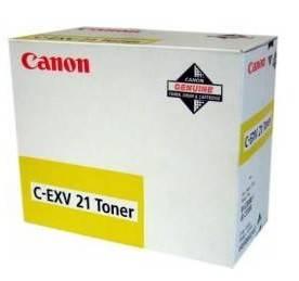 Тонер для принтера Canon C-EXV21 желтый 260 грамм (0455B002) - фото 2