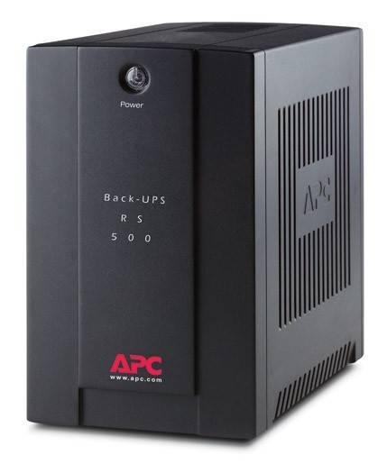 ИБП APC Back-UPS RS BR500CI-RS 300Вт черный - фото 1