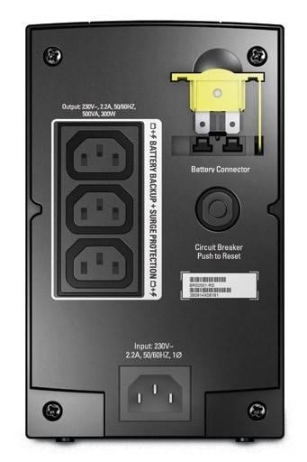 ИБП APC Back-UPS RS BR500CI-RS 300Вт черный - фото 2