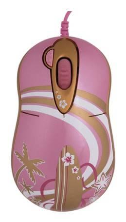 Мышь G-Cube GLA-6SF розовый/золотой - фото 1