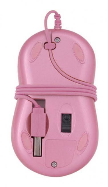 Мышь G-Cube GLA-6SF розовый/золотой - фото 3