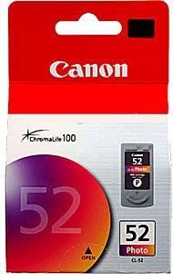 Картридж струйный Canon CL-52 0619B025 многоцветный