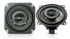 Колонки автомобильные Pioneer TS-1002I, максимальная мощность 120 Вт, размер динамика 10 см (4 дюйм.), коаксиальные, двухполосные, чувствительность 87дБ, импеданс 4Ом