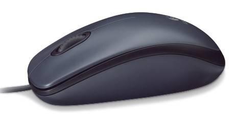 Мышь Logitech M90 черный - фото 2