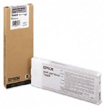 Картридж Epson T6069 светло-серый (C13T606900)