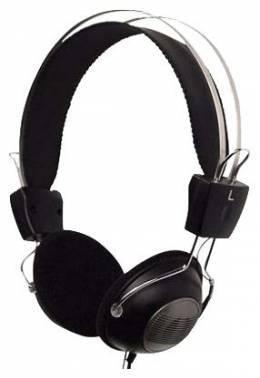 Наушники с микрофоном A4 HS-23 черный / серый