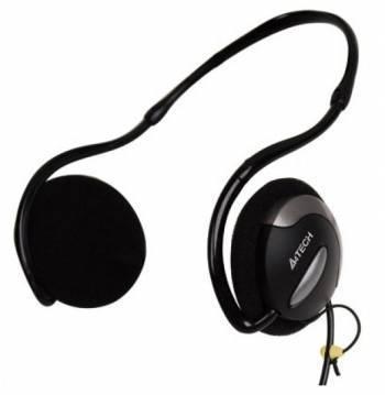 Наушники с микрофоном A4 HS-24 черный
