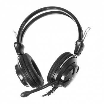 Наушники с микрофоном A4 HS-28 черный