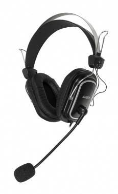 Наушники с микрофоном A4 HS-50 черный