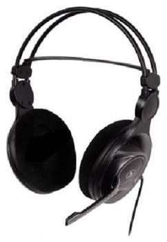 Наушники с микрофоном A4 HS-100 черный/серый
