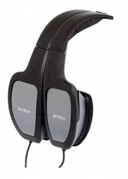 Наушники с микрофоном A4 HS-105 серебристый / черный