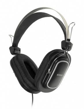 Наушники с микрофоном A4 HS-200 черный