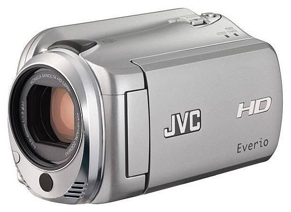 Видеокамера JVC GZ-HD500SEU серебристый - фото 1