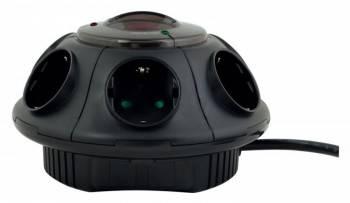 Сетевой фильтр Ippon BU-232B 3м черный