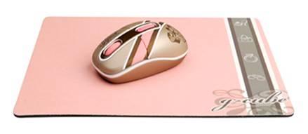 Мышь G-Cube Royal Club G7MR-1020RI золотистый/розовый - фото 1