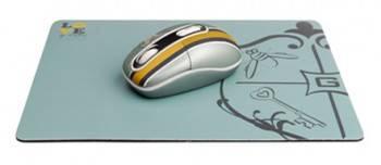 Мышь G-Cube Royal Club G7MR-1020RR серый / золотой