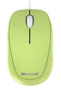 Мышь Microsoft Compact 500 зеленый - фото 1