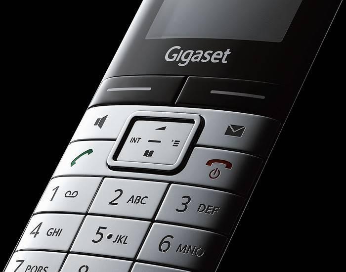 Телефон Gigaset Gigaset SL400 серебристый/черный - фото 7