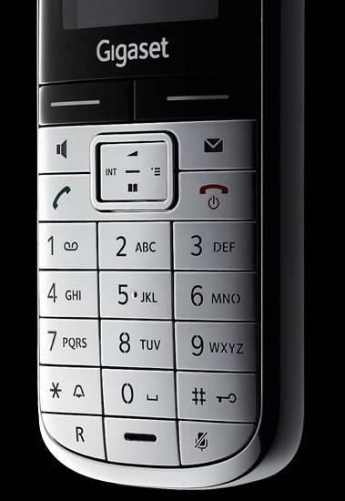 Телефон Gigaset Gigaset SL400 серебристый/черный - фото 8