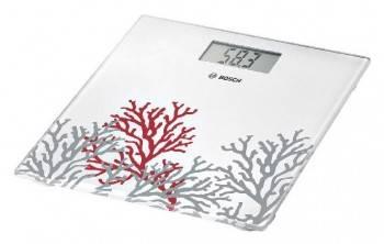 Весы напольные электронные Bosch PPW3301 белый/рисунок