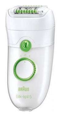 Эпилятор Braun SE5580 белый/зеленый (81498434)