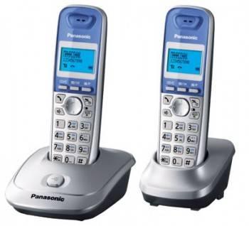 Телефон Panasonic KX-TG2512RUS серебристый